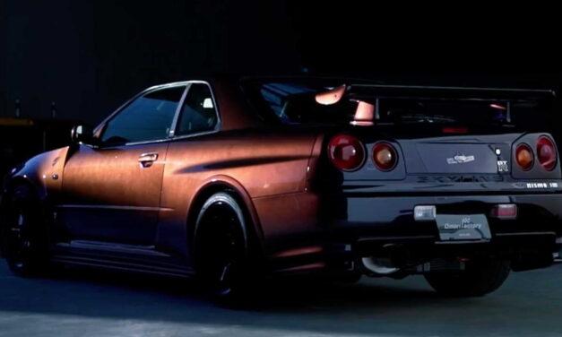 Najbolji japanski trkač  nissan skayline GT-R