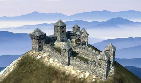 Tvrđava Koznik, ruševina željna graditelja